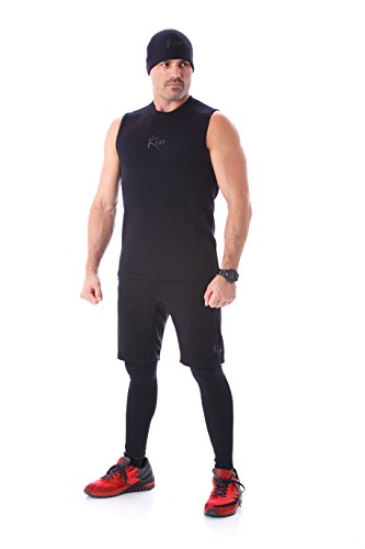 Kutting Weight NEW (cutting weight) Neoprene Weight Loss Sauna Suit Tank Top, L