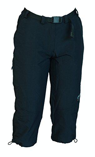 Elásticos Negro Piratas Pantalones Deproc Para Kenora Active Mujer xqwzxTH