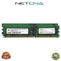 - 376638-B21 1GB (2x512MB) HP/Compaq Proliant BL25P/BL35P/DL385 184p PC3200 CL3 Registered ECC DDR DIMM Memory Kit 100% Compatible memory by NETCNA USA