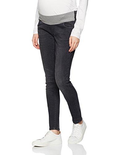 Bellybutton Jeans Slim Mit Überbauchbund-0007550, Vaqueros Premamá para Mujer Grau (grey 0016)