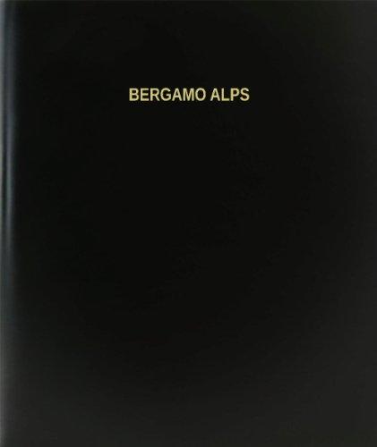 - BookFactory Bergamo Alps Log Book / Journal / Logbook - 120 Page, 8.5