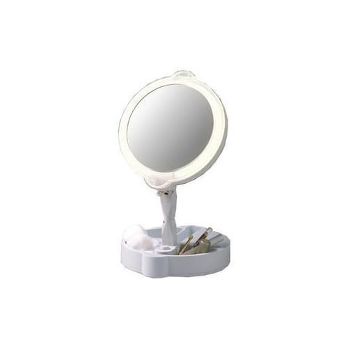 Floxite 7501-8-9 Rialto Home & Travel Mate - 9x Magnification & 1x Regular - Contact Plain White Lenses