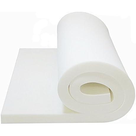 Foam Cushion 1 T X 24 W X 80 L 1536 MEDIUM FIRM Seat Cushion Replacement Foam Cushion Upholstery Foam Sheet Foam Padding