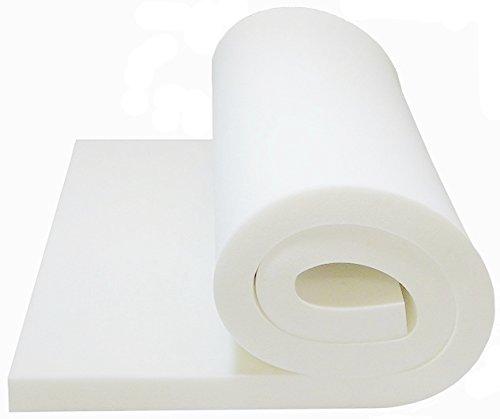 Foam Cushion 1T x 22W x 80L (1536)MEDIUM FIRM Sofa Seat Replacement Foam Cushion, Upholstery Foam Sheet, Foam Padding Ritchie Foam & Mattress RFD3612280