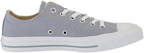 Glacier White Chuck Top Low White Grey Star Canvas Taylor Converse Perforated All Women's Sneaker ZqxvR