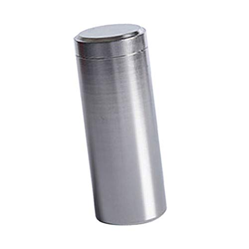 (?Tea Storage Box, Maserfaliw Anti-Damp Aluminum Alloy Tin Canister Kitchen Tea Sugar Coffee Storage Box Jar - Silver, Recyclable, Suitable For Holiday Gifts In The Outing and Indoors.)