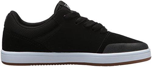 etnies Marana, Zapatillas de Skateboard Unisex Niños Negro (968-black/gum/white 968)
