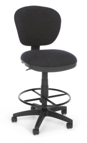 OFM 150-DK-128 Lite Use Computer Task Stool with Drafting Kit (Lite Drafting Use Chair)