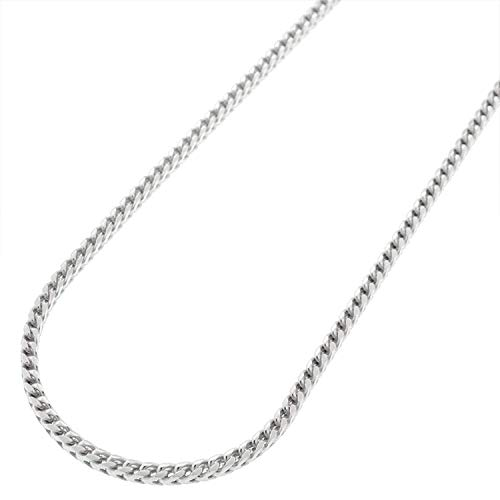 - Sterling Silver Italian 2mm Solid Franco Square Box Link 925 Rhodium Necklace Chain 16