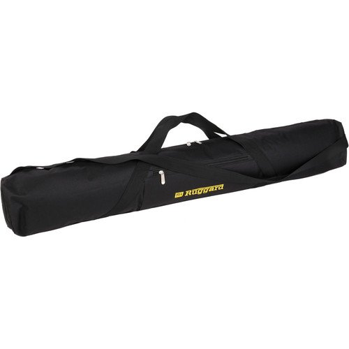 Ruggard Padded Tripod Case (42'', Black with Yellow Embroidery)(6 Pack) by Ruggard
