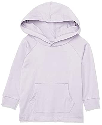 Bonds Baby Girls' Aussie Cotton Hoodie Long Sleeve Tee, Mermaid Mist, 0 (6-12 Months)