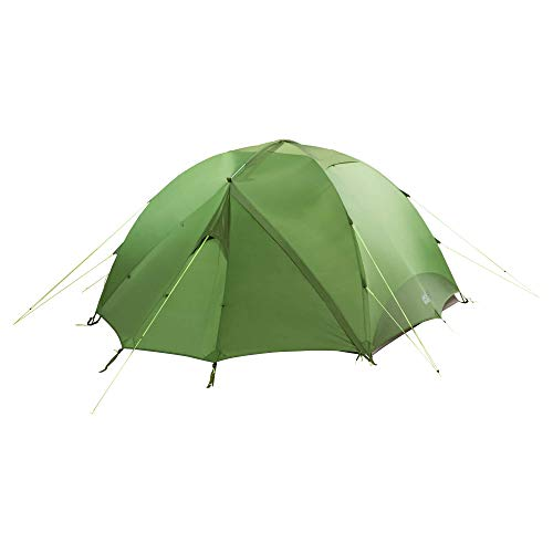 Jack Wolfskin YELLOWSTONE IV very well ventilated 4-Person hiking tent with removable fly, repair kit included (Best Places Camp Oregon Coast)