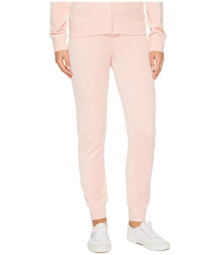 Juicy Couture Women's Zuma Velour Pants Sugared Icing Petite/X-Small