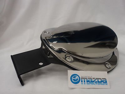 Mazda Mx5 Miata 2006-2013 Hard Top Chrome Fuel Door! Oem