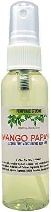 Alcohol Free Travel Size Moisturizing Body Spray for Women and Girls by Perfume Studio (Mango Papaya, 2oz)