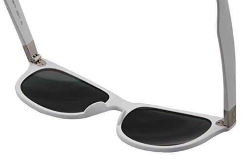 Green White Gafas unisex de sol Dark Blanco Ban RB4207 Matte Ray 8wvqxS4q