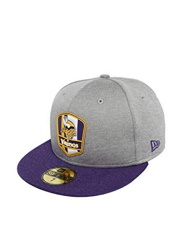 変位フラスコリンクニューエラ (New Era) 59フィフティ キャップ - サイドライン Away ミネソタ?ヴァイキングス (Minnesota Vikings)
