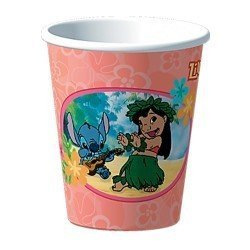 Lilo and Stitch Party Cups 8 in Pack 9 Ounces Each Classic Rare (Pack Ounce Each 9)