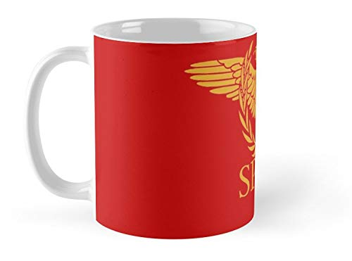 Romanus The Senate And People Of Rome Mug - 11oz Mug - Best gift for family friends (The Senate And The People Of Rome)