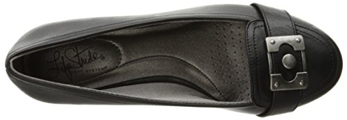 Lifestride Womens Factor Wedge Pump Nero