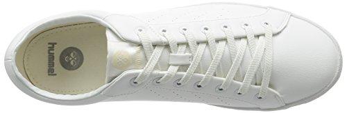 Top Unisex Erwachsene White Low Court 9001 Weiß Hummel Tonal Deuce qIAYxwOt