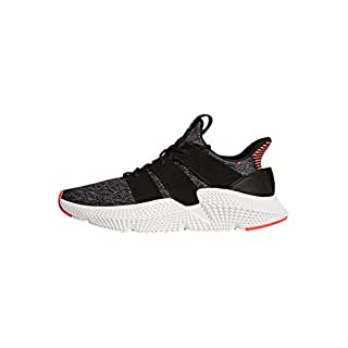 adidas Originals Men's Prophere Running Shoe, Core Black / Solar Red, 12