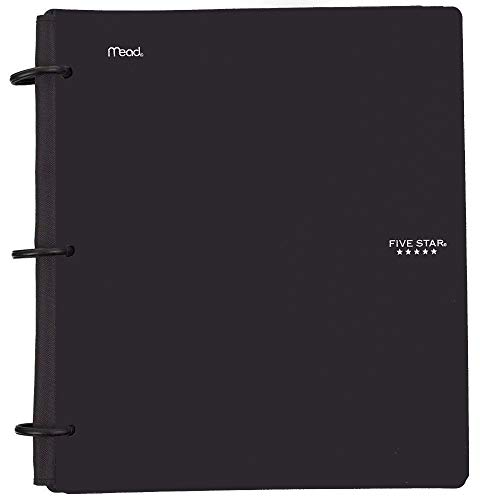 - Five Star Flex Hybrid Notebinder, 1-1/2 Inch Binder, Notebook and Binder All-in-One, Black (72403)