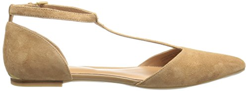 Women's Caramel Pointed Ghina New Klein Calvin Toe Flat 4qf88a