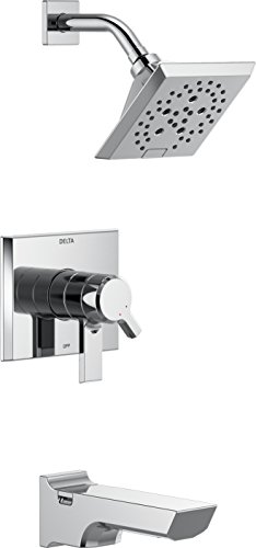 - Delta Faucet T17499 Pivotal Monitor 17 Series Tub and Shower Trim, Chrome