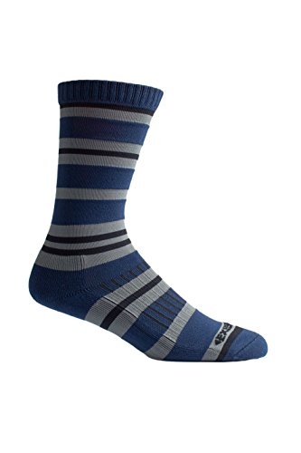 ol Cool Crew Sock, Navy Stripe, Medium/Large ()