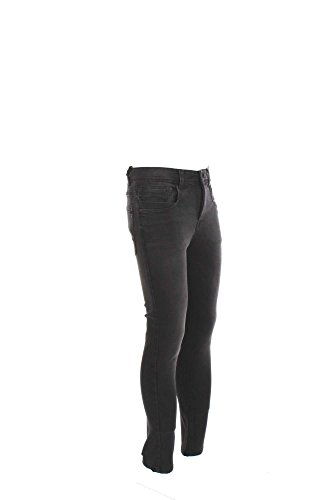 Jeans Uomo Yes-zee 31 Nero P602 F596 Autunno Inverno 2016/17