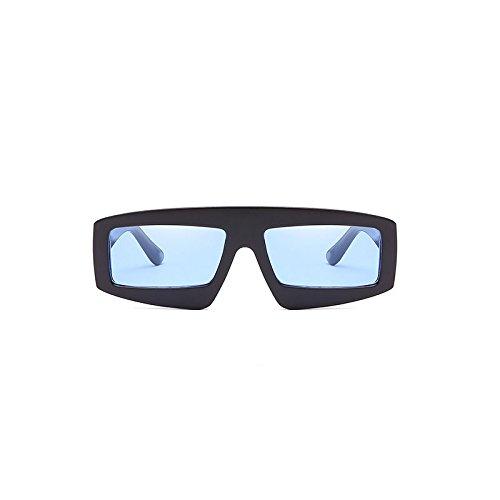 diseñador negro señoras ZHANGYUSEN rectángulo marco marca Retro sol de gafas Vintage mujeres para marco negro grande mujer gafas de azul Gafas hombre nrq0rXR4