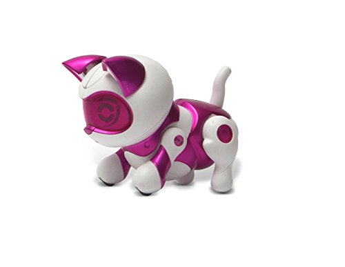 Tekno Newborns Pet Robot Cat, Pink