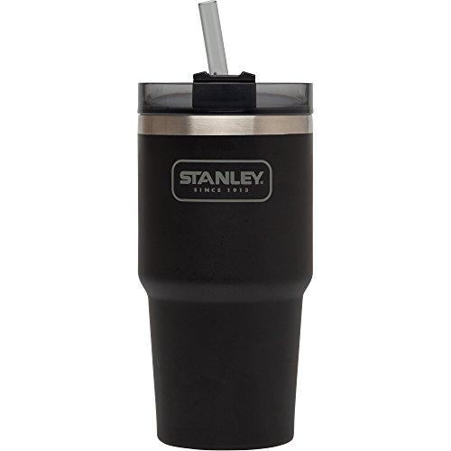 Stanley Adventure Vacuum Quencher, Matte Black, 20 oz/Small