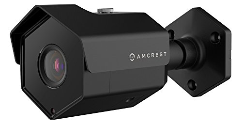 (Amcrest ProHD Outdoor 4 Megapixel POE Bullet IP Security Camera - IP67 Weatherproof, 4MP (2688 TVL), IP4M-1026E (Black) (Renewed))