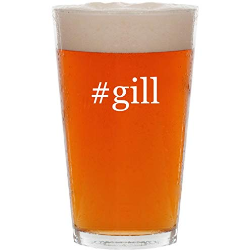 #gill - 16oz Hashtag All Purpose Pint Beer Glass