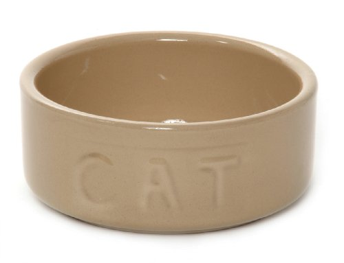 Mason Cash 5-Inch Cane Cat Bowl, Lettered Cat, My Pet Supplies