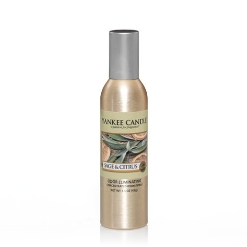 Yankee Candle Sage & Citrus Concentrated Room Spray, Fresh Scent