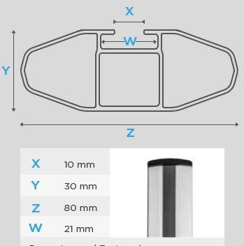 Barres de toit Railing pour VOLVO XC60 D/ès 2008 Jusqu/à 2013