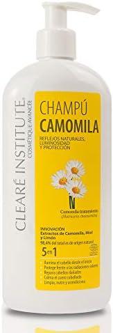 Clearé Institute Champú Camomila – Limpia,