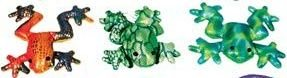 (Colorful Glitter Sand Animal, 1-pc (Frog))