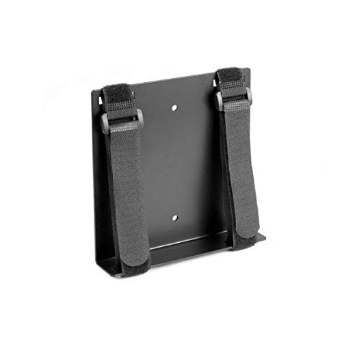 Oeveo Universal Strap Mount 125-6H x 1.25W 6D | Adjustable Mount for Mini Computer, AV Components, Media Devices, and Other Small Electronic Devices | - Component Wall Mount