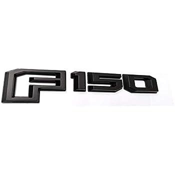 1x OEM Black 2015-2018 F150 Rear Tailgate Emblem Badge 3D Nameplate Replacement for F-150 FL3Z-9942528-C Chrome