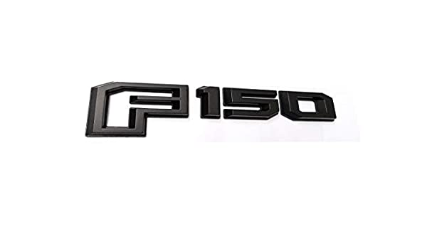 1x OEM Black 2015-2018 F150 Rear Tailgate Emblem Badge 3D Nameplate Replacement for F-150 FL3Z-9942528-C Chrome
