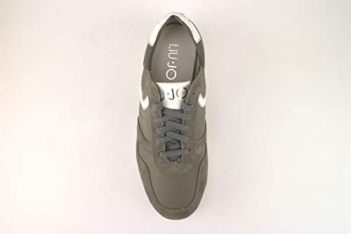 Pelle Uomo Scamosciata Sneaker Grigio Liu Jo Y6TRSS