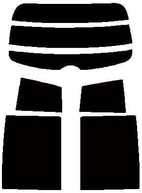 株式会社セブン ハードコートフィルム ニッサン ティーダ C11・NC11・JC11 リヤーセット カット済みカーフィルム ウルトラブラック