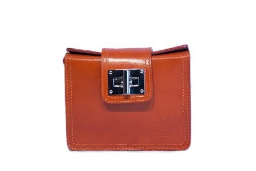 Bella Italia Bags Bella Satchel Cross Body Bag-Orange - Bella Satchel