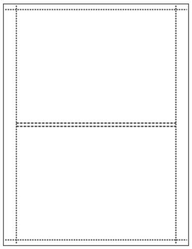 Matte Finish DVD Box Inserts for 7mm Thin DVD Boxes, 100-Pak (100 Sheets) ()