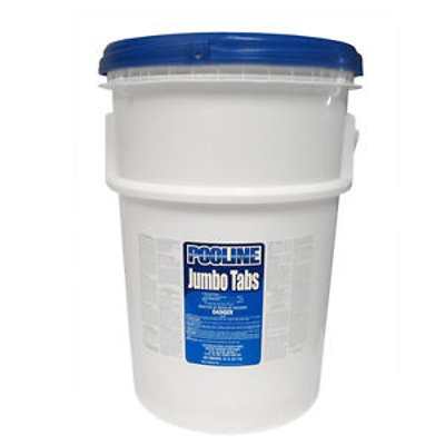 50-Pound Bucket of Swimming Pool/Spa 3-Inch Wrapped Chlorinating Tablets, 50 lbs