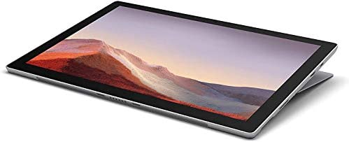"New Microsoft Surface Pro 7 Bundle: tenth Gen Intel Core i5-1035G4, 8GB RAM, 128GB SSD (Latest Model) – Platinum with Black Type Cover and Surface Pen, 12.3"" Touchscreen Pixelsense Display"